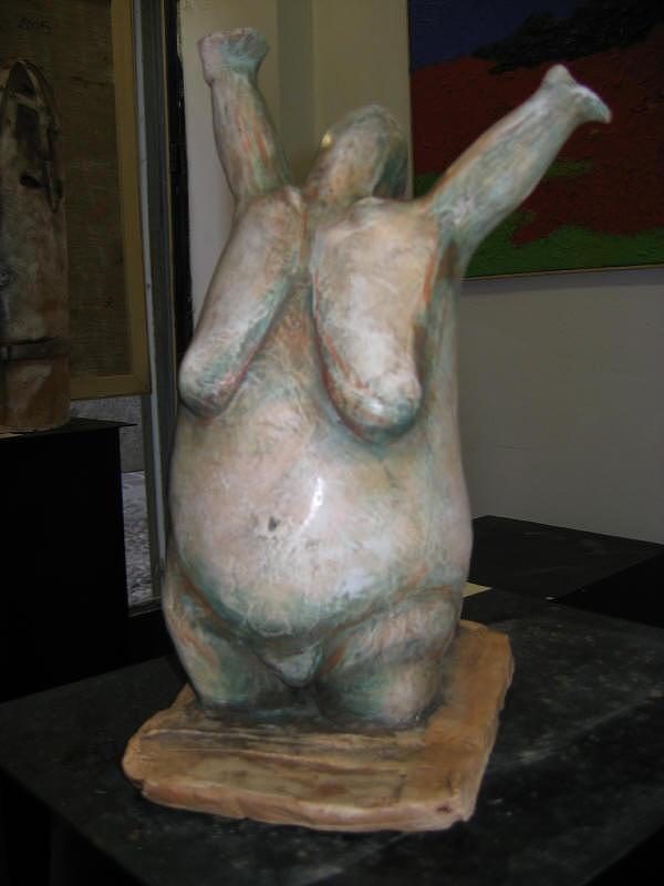 Athlete Sculpture by Dambros AFerrari
