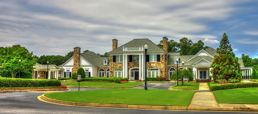 Atlanta Athletic Club Johns Creek Georgia Golf Art ...