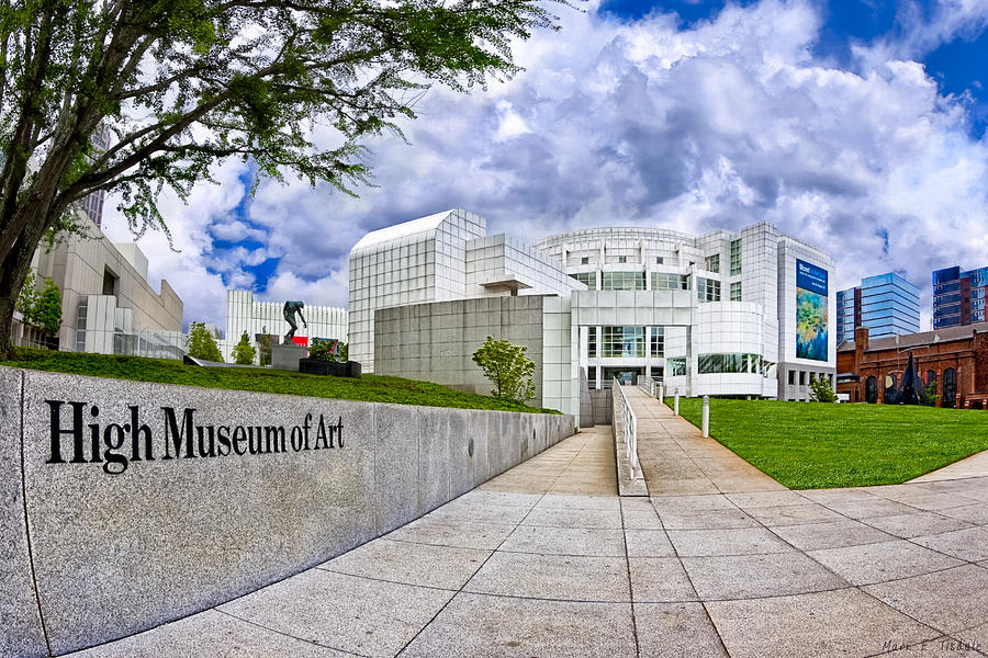 Atlanta Photograph - Atlantas High Museum by Mark E Tisdale