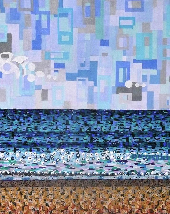 Atlantic Beach Painting by Micah Mullen