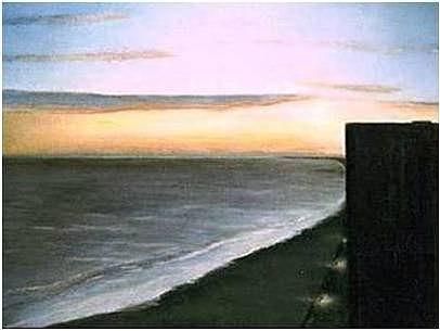 Beach Pastel - Atlantic City by Brian Higgins