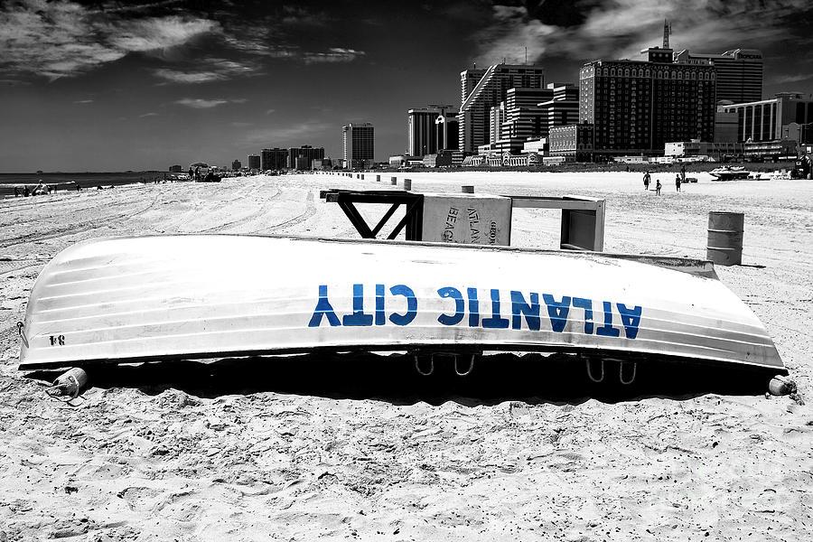 Fusion Photograph - Atlantic City Fusion by John Rizzuto