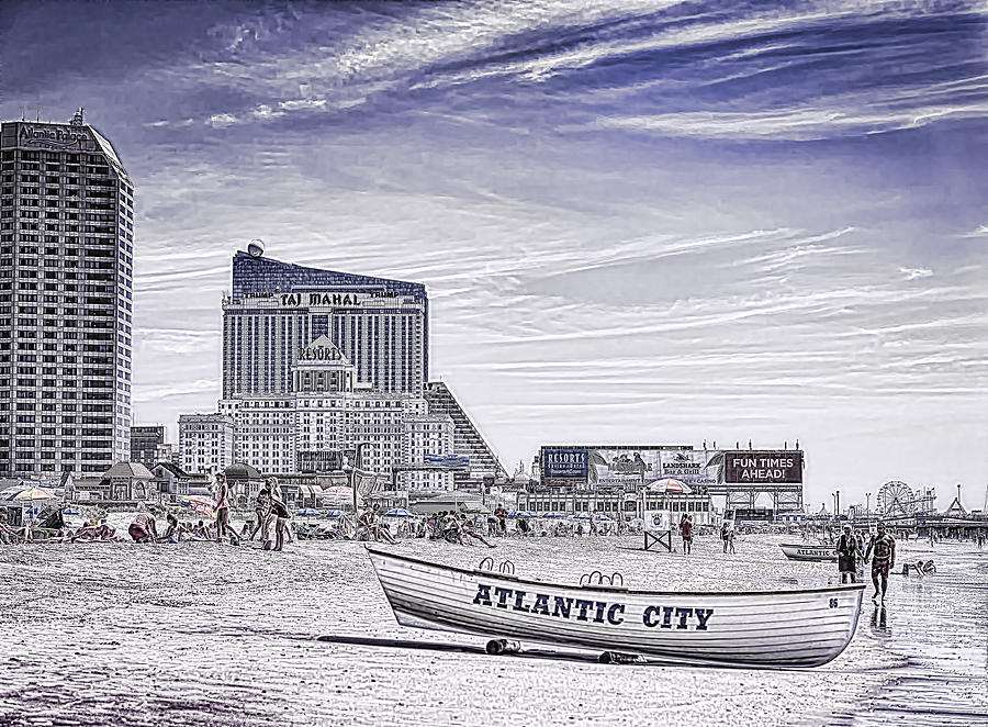 Atlantic City by Linda Constant