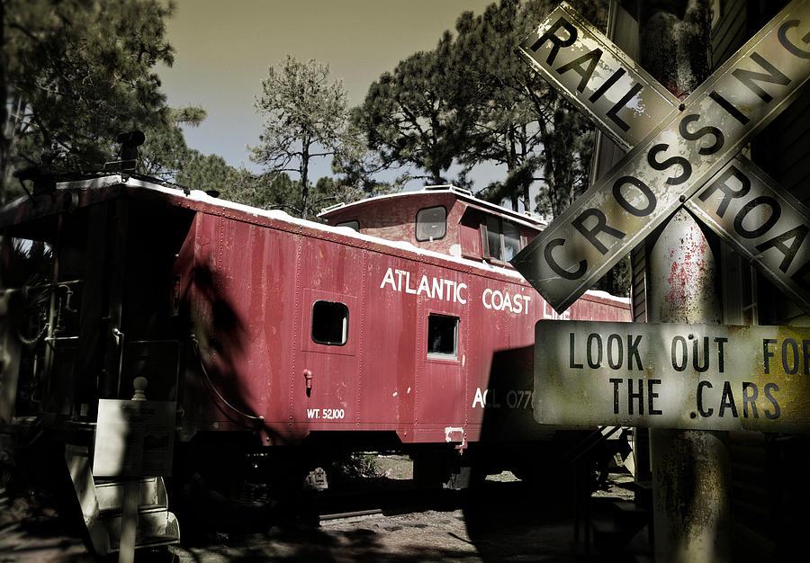 Atlantic Photograph - Atlantic Coast  Line Railroad Carriage by Mal Bray