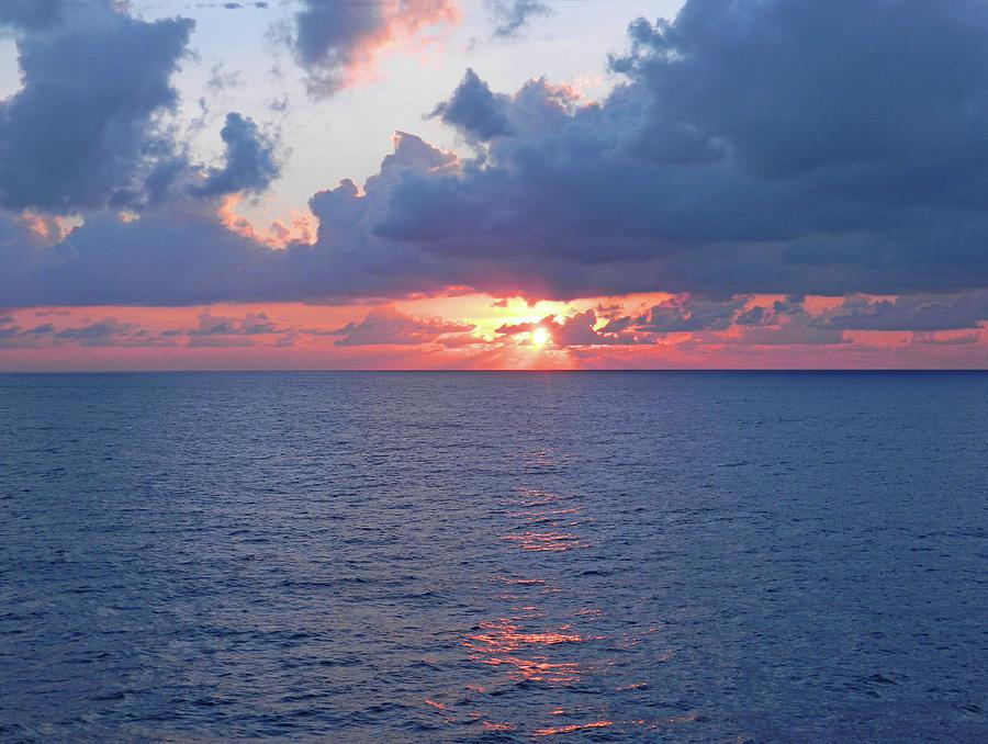 Atlantic Ocean Sunrise In The South Photograph