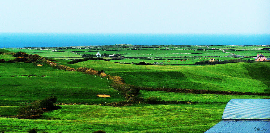 Ireland Photograph - Atlantic View Doolin Ireland by Teresa Mucha