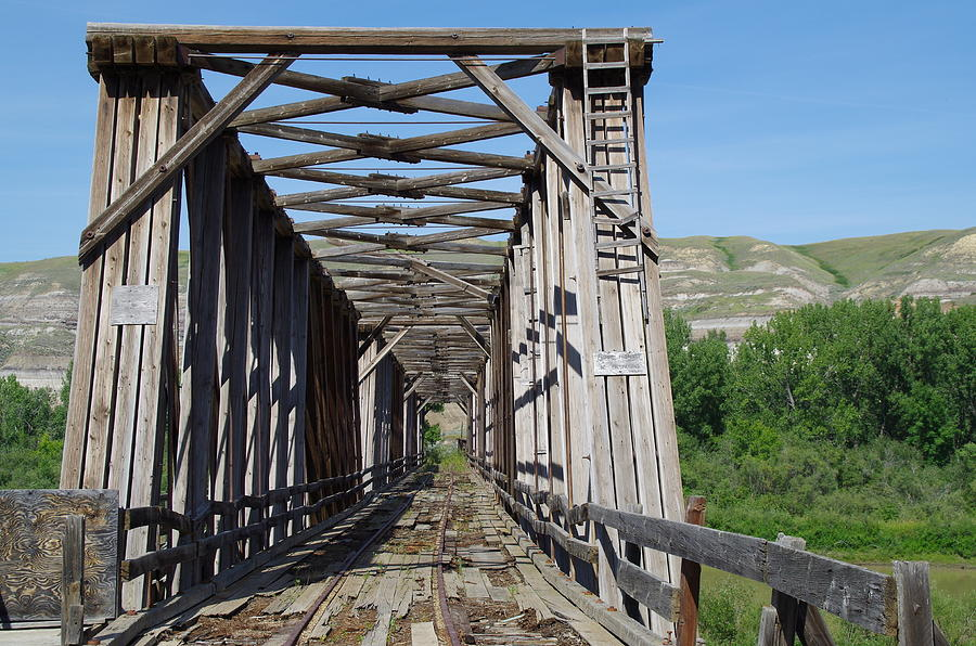 Atlas Coal Mine Wooden Truss Bridge
