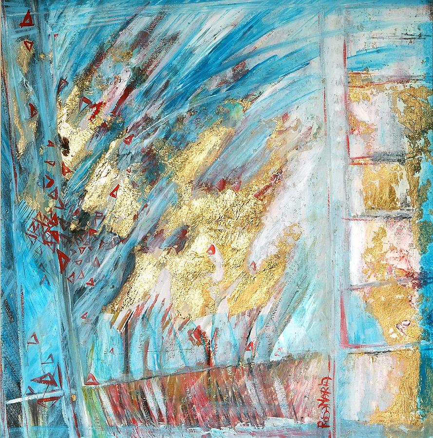 Rosamaria Painting - Atmosphere by Santini Rosamaria