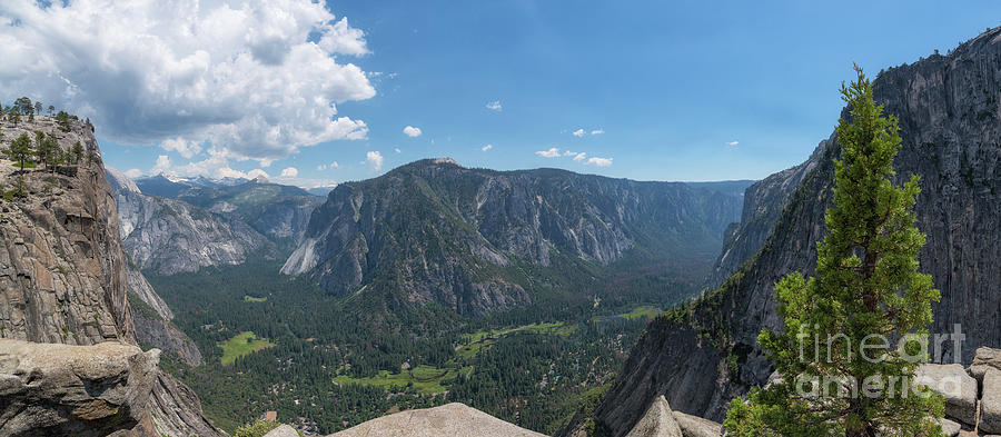 Yosemite Valley Photograph - Atop Upper Falls Hike by Michael Ver Sprill