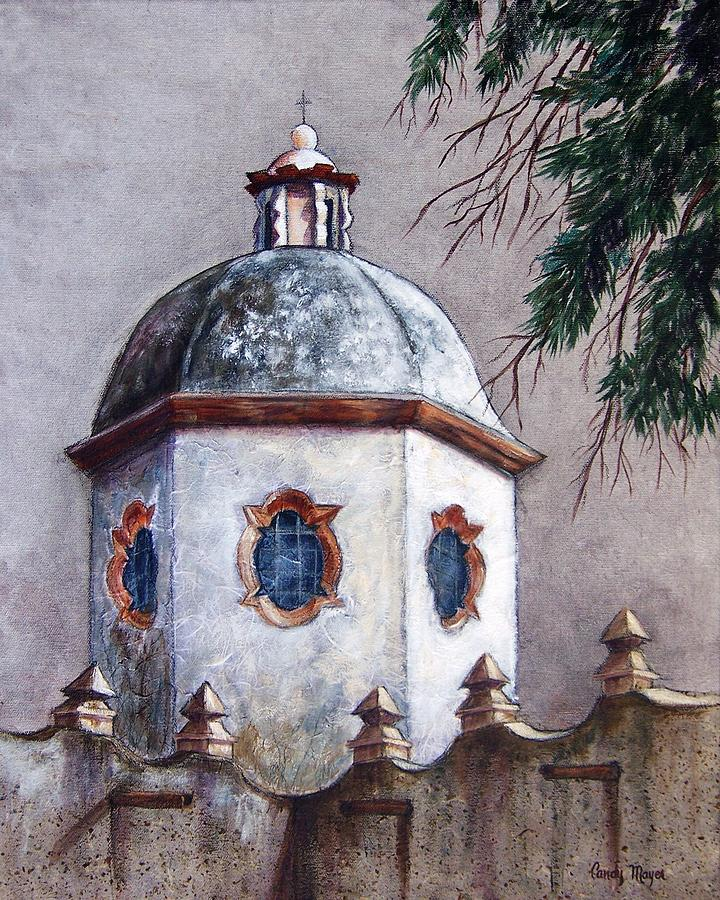 Landscape Painting - Atotonilco by Candy Mayer