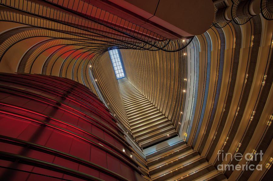 Atrium Countours by Stephen McDowell