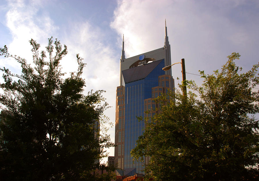 Nashville Photograph - Att And Batman Are The Same by Susanne Van Hulst