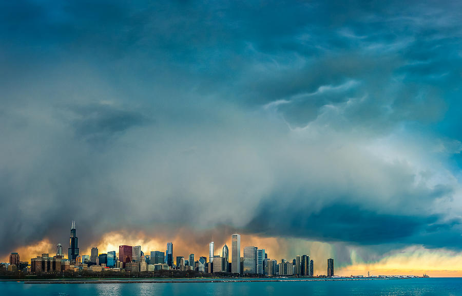 Chicago Photograph - Chicago by Cory Dewald