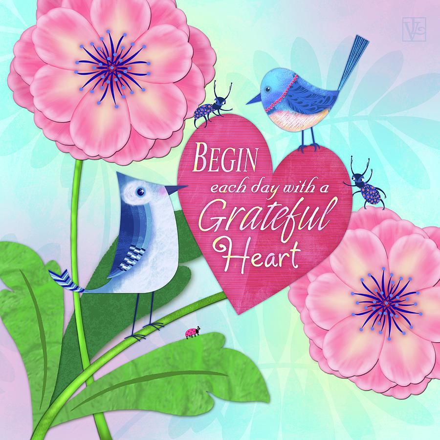 Attitude of Gratitude by Valerie Drake Lesiak