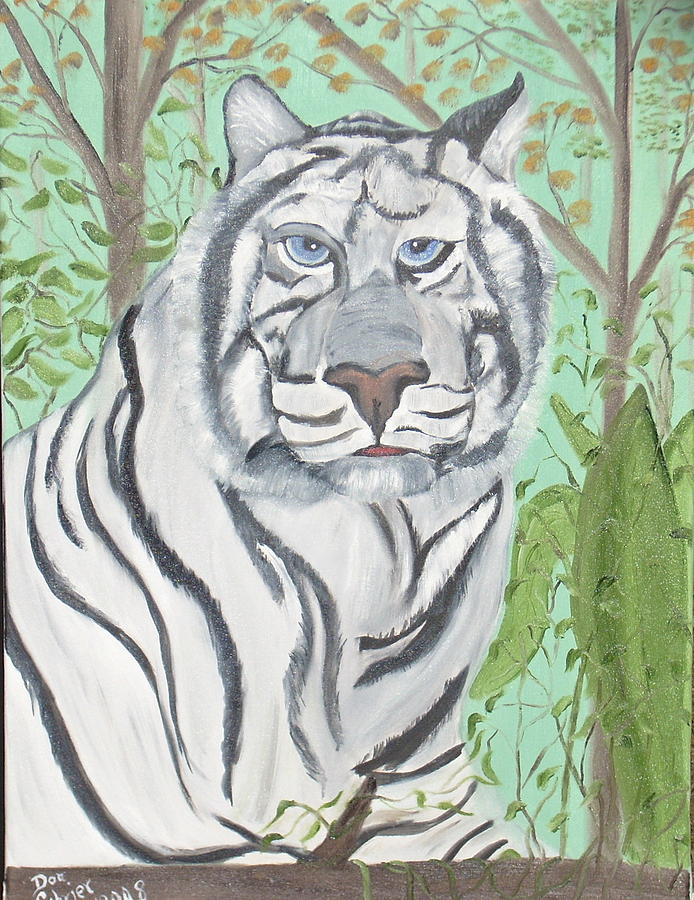 Animals Painting - Attitude Problem by Donald Schrier