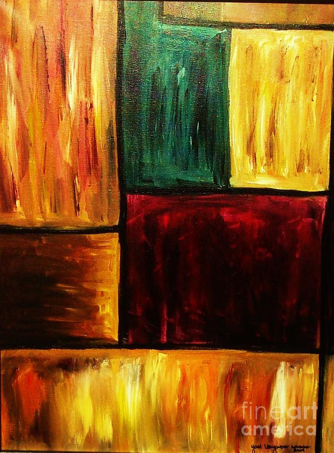 Abstract Painting - Attractive by Yael VanGruber