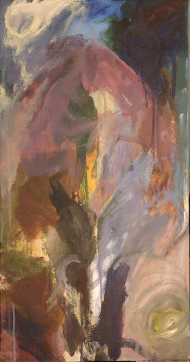 Abstract Painting - Attunement by Nick Thabit