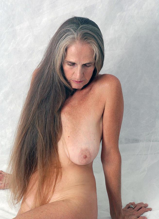 Naked Photograph - Au Naturel by Nancy Taylor