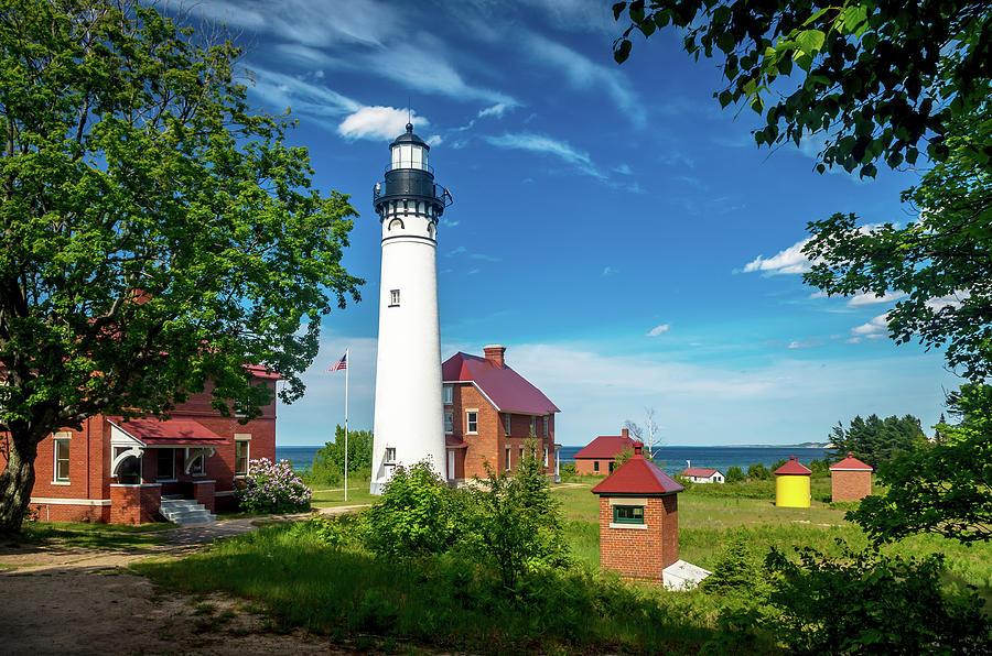 Au Sable Lighthouse  by Gary McCormick