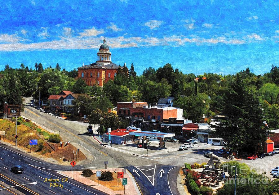 Auburn Mixed Media - Auburn Ca by Patrick Witz