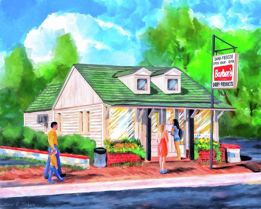 Auburn Painting - Auburn Sani-Freeze - The Flush by Mark Tisdale