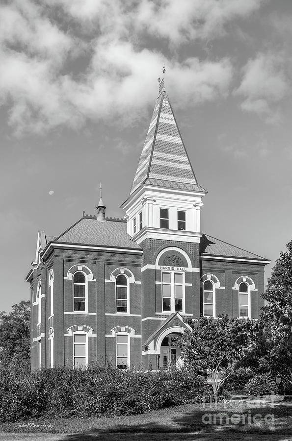 Auburn University Photograph - Auburn University Hargis Hall by University Icons