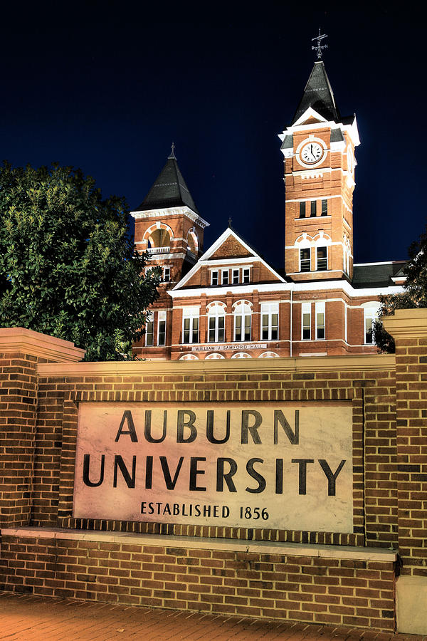 Auburn University Photograph - Auburn University by JC Findley