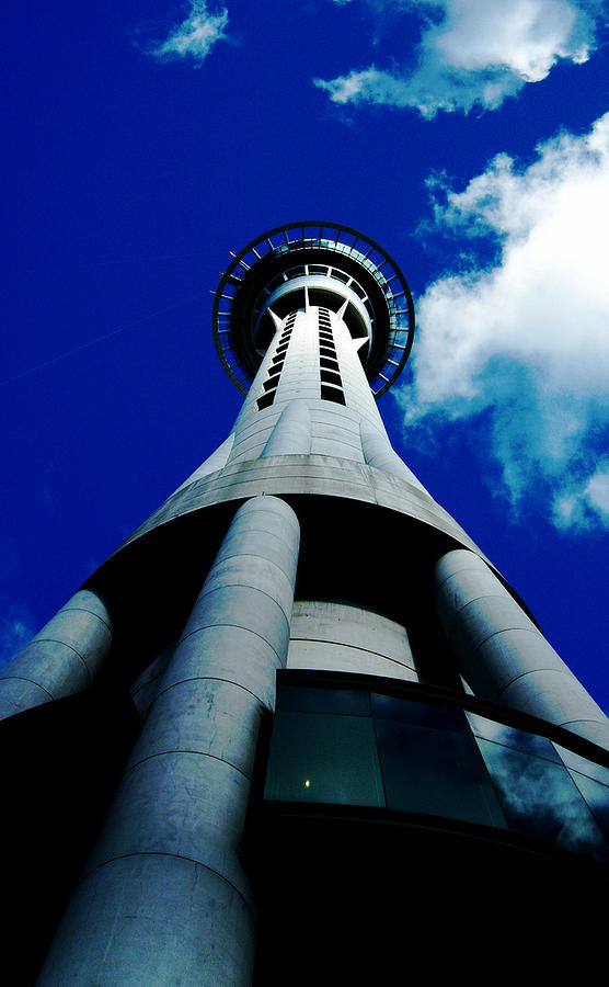 Auckland Sky Tower Photograph by Ashlee Terras
