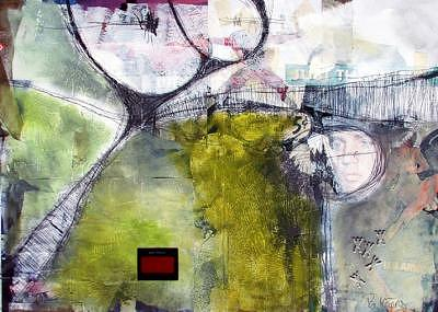 Abstract Impression Painting - Audio Visual Communication II by Ron Weijers