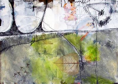 Abstract Impression Painting - Audio Visual Communication III by Ron Weijers