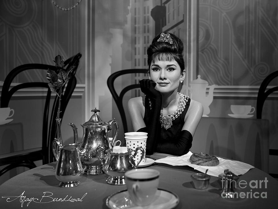 Audrey Hepburn Photograph - Audrey Hepburn by Ajay Bundiwal