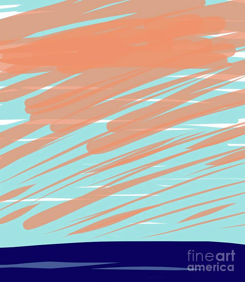 August 5th 2017 - Evening Sky III by Annekathrin Hansen
