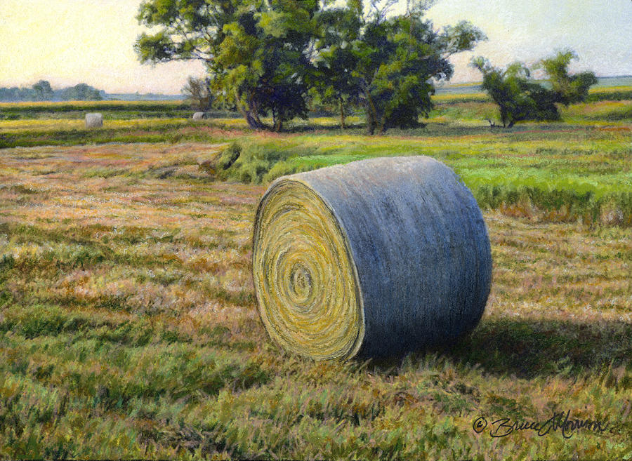 August Bale Study No.1 by Bruce Morrison