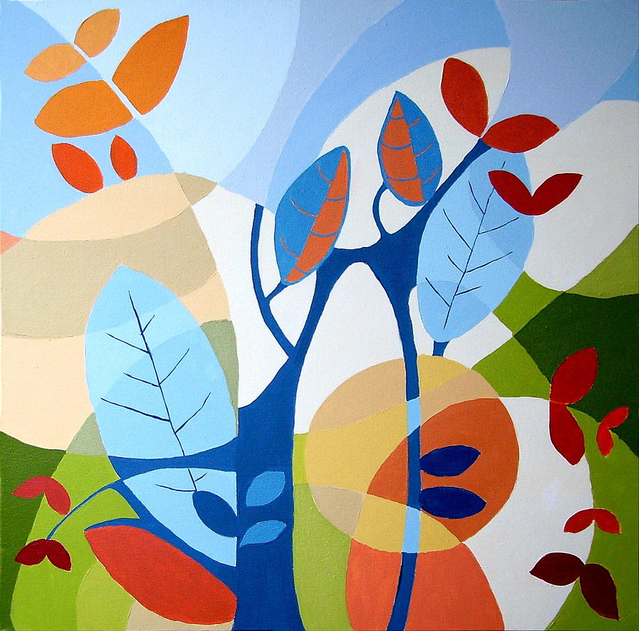 Painting - August by Carola Ann-Margret Forsberg
