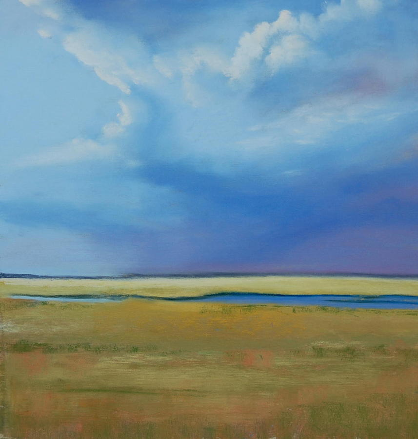 Jersey Shore Painting - August Sky by Jeanne Rosier Smith