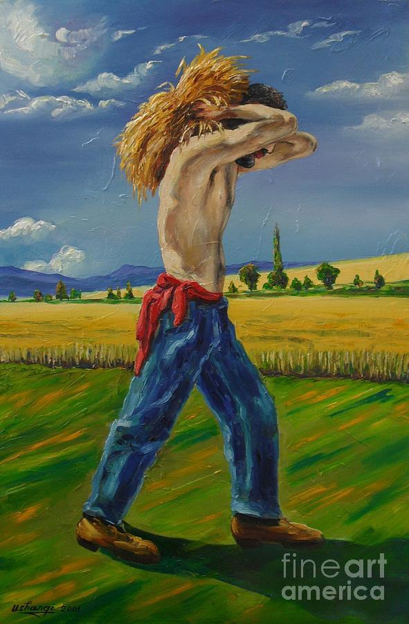 Summer Painting - August by Ushangi Kumelashvili