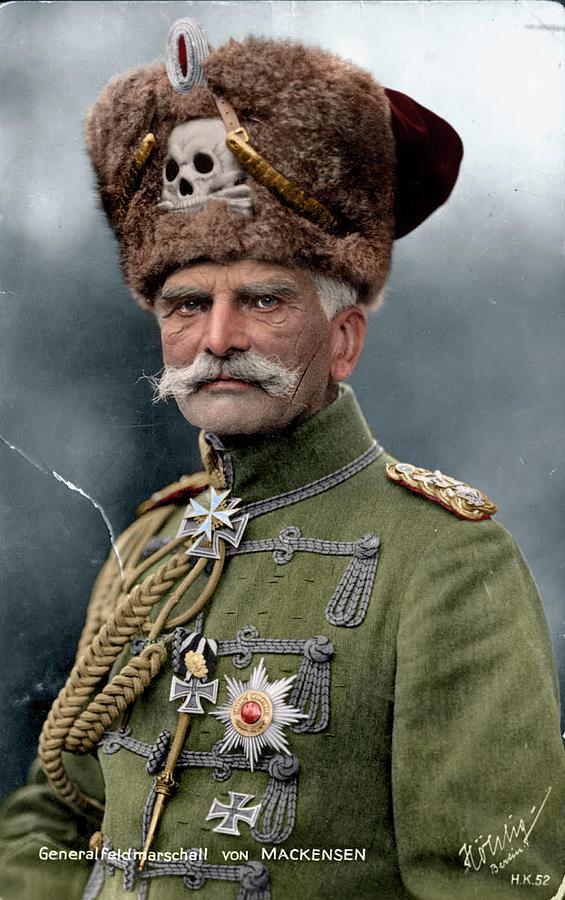 August von Mackensen Digital Art by Mads Madsen