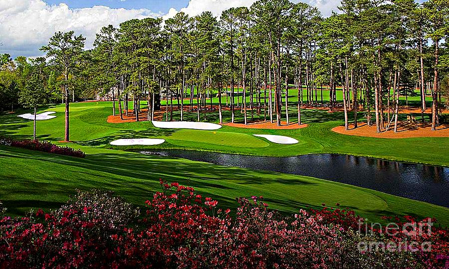 Augusta national GC #16 by Michael Graham