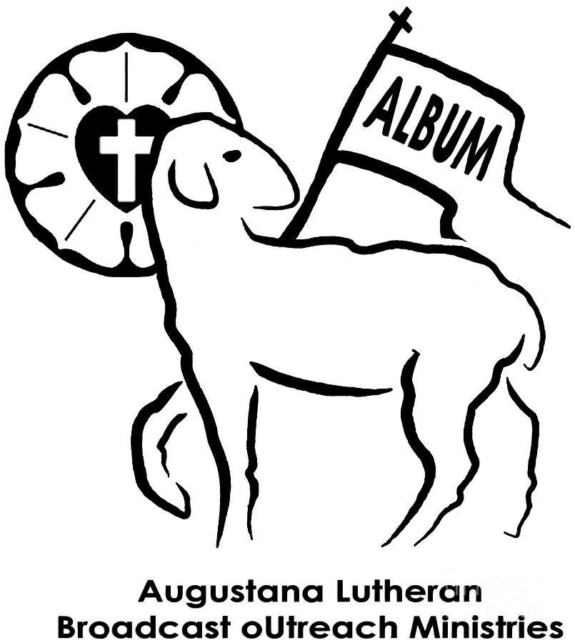 Album Photograph - Augustana Lutheran Broadcast Outreach Ministries Logo by Jost Houk