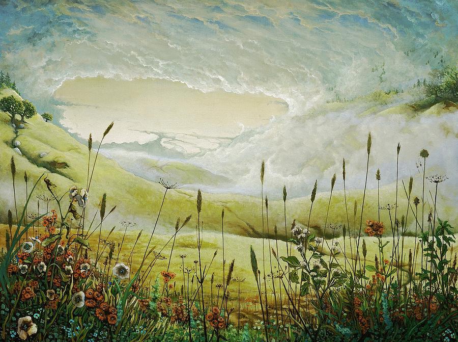 Clouds Print - AUM by Boris Koodrin
