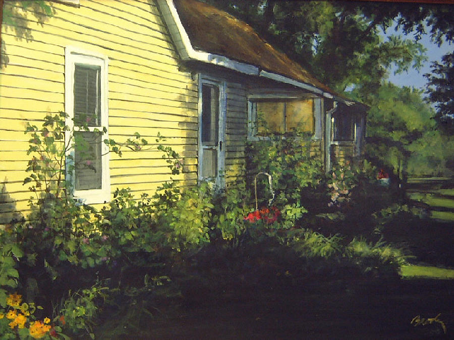 Country Painting - Aunt Betty by William  Brody