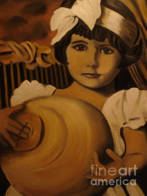 Peace Project Painting - Aunt Valerie by Linda Mungerson