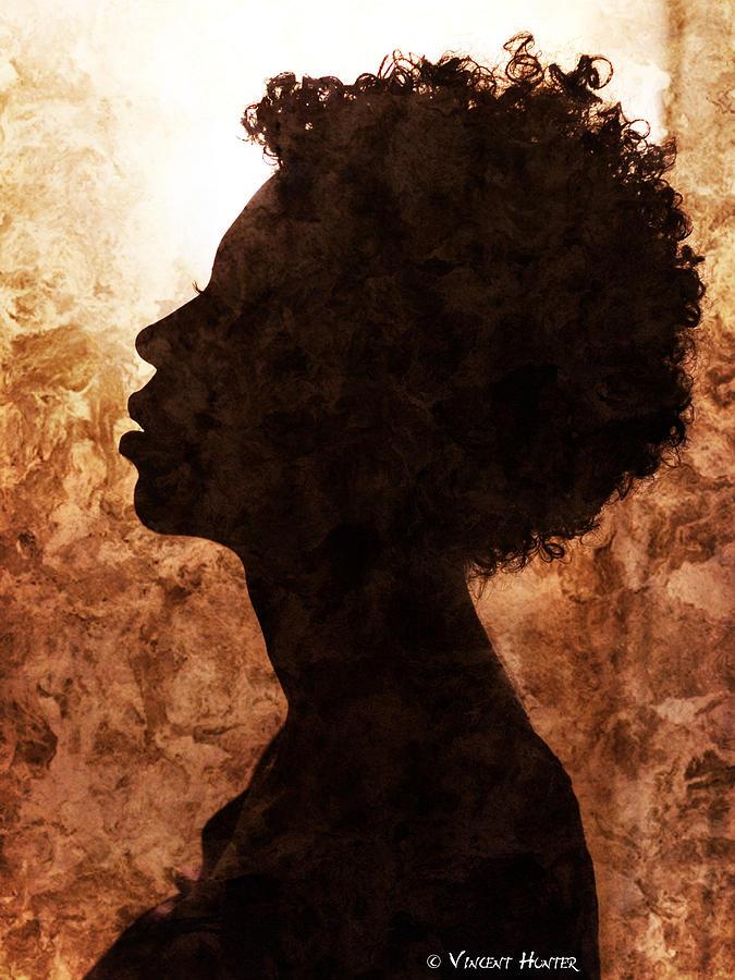 Curly Hair Photograph - Aura by Melissa Dian Chapman