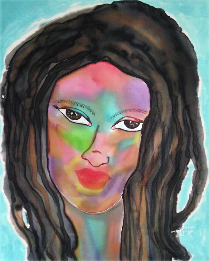 Bahamas Painting - Aura by Tiff