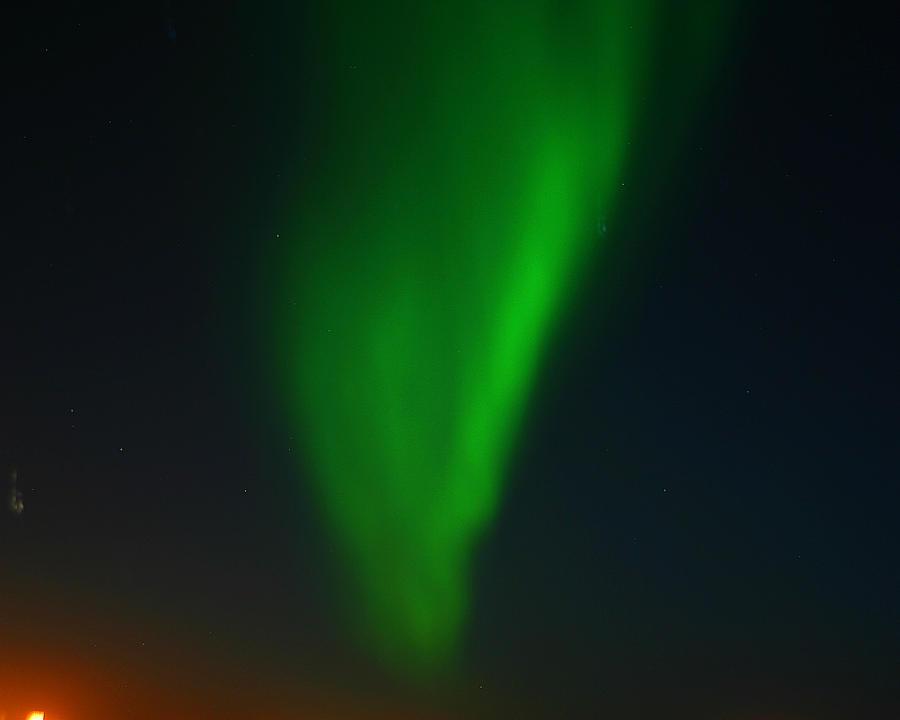 Aurora Borealis Photograph - Aurora Borealis  by Anthony Jones