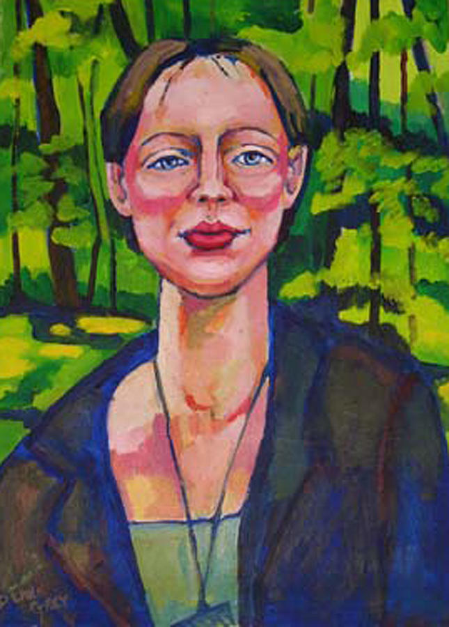 Portrait Painting - Aurora by Doris  Lane Grey