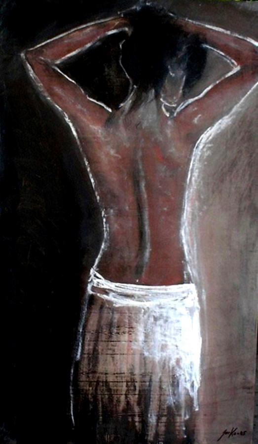 Artist Painting - Aurora by Jarko Aka Lui Grande
