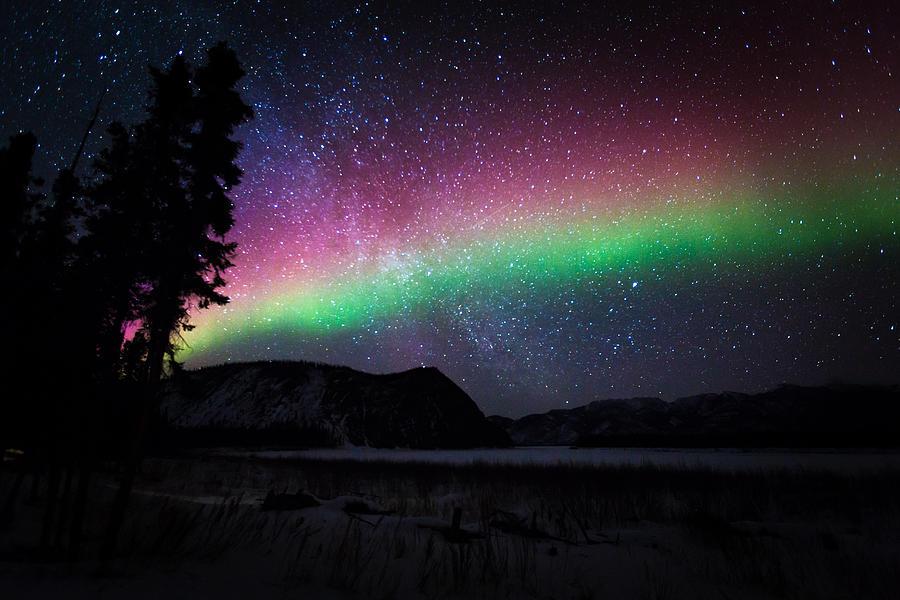 Aurora Rainbow Photograph