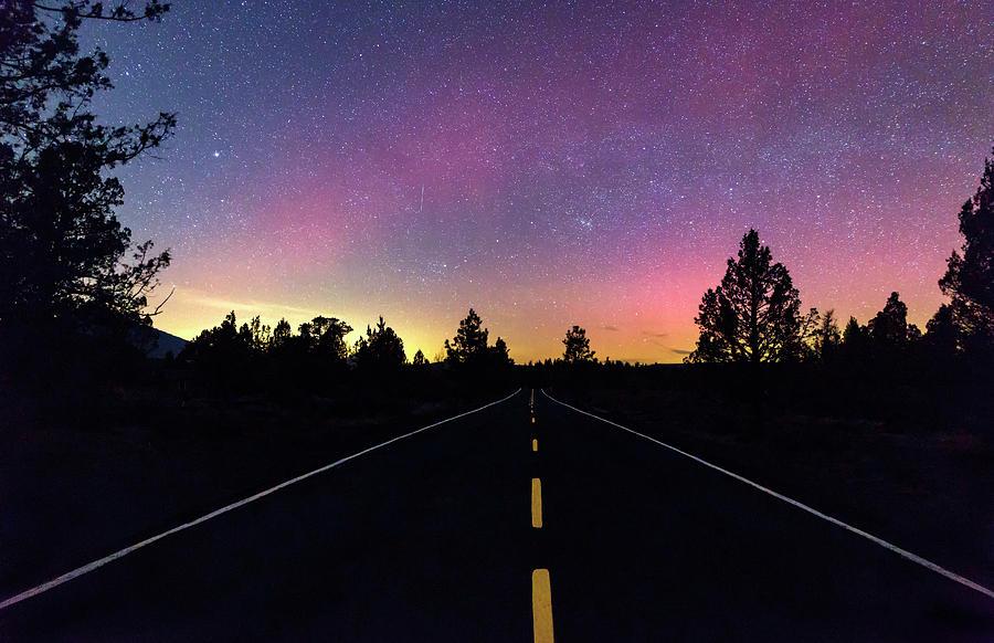 Oregon Photograph - Aurora Road by Cat Connor