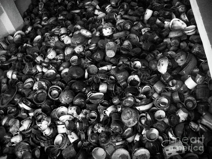 Auschwitz Birkenau Bowls Photograph By Ricardmn Photography